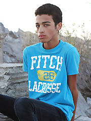 Cute young boys modeling...