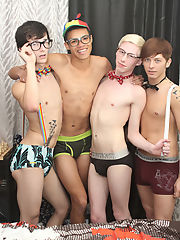 Twink cum eating pics...