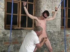 Gay boys uncut penis and gay genital torture tube - Boy Napped!