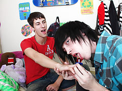 Young teeny tiny teen twink wanking and twinks measures penis