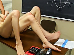 Twinks cum stains and gay man fucks his gay silicone sex doll at Teach Twinks