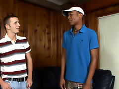 Interracial gay mature sex and p