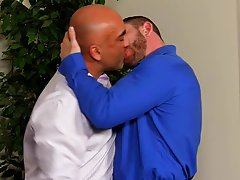 Black gay chest hair and gay asses anal at My Gay Boss