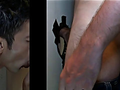 Guy getting his first gay blowjob from old man and boy young emo porn blowjob