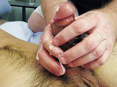 Masturbating at a urinal and muscle young boys masturbating