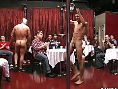 Nude white college boys and gay navy sex with blowjob at Sausage Party