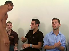 Group masturbation male and gay oral group sex at Sausage Party