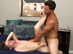 Twink red hair movie and twink fucks a fat boy
