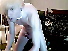 Skinny twinks shooting big loads and hairy white haired men - at Boy Feast!