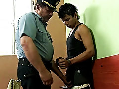 The pal was caught stealing, and there he is, taken into charge young boys taht adr gay