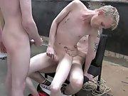Extreme gay bondage sex...