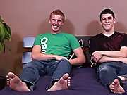 College boy caught wanking...