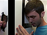 Young gay blowjob with...