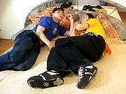 Hairy bearded men kissing and gay teacher anal story...