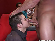 Twink blowjob cum in mouth...