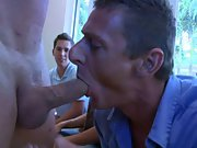 Gay male group sex and multiple men group sex at...