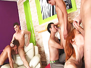 Group men sex and group gay...