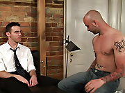 Gay outdoor group sex and...