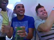 Gay group handjobs and gay...