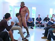 Group skinny dipping well endowed men and gay 6...