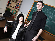 Gay young gay blowjob...