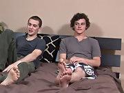 Gay teen boy sucks straight...