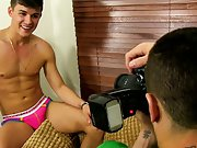 Long haired guys jacking off and short clip of white...