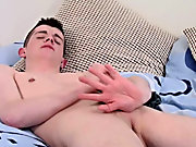The demand on his balls is so amazing he can't hold out so he strokes hard and Cums all over his tummy extremely differen